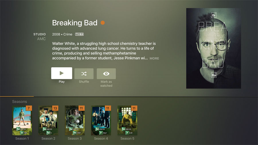 Plex på Apple TV