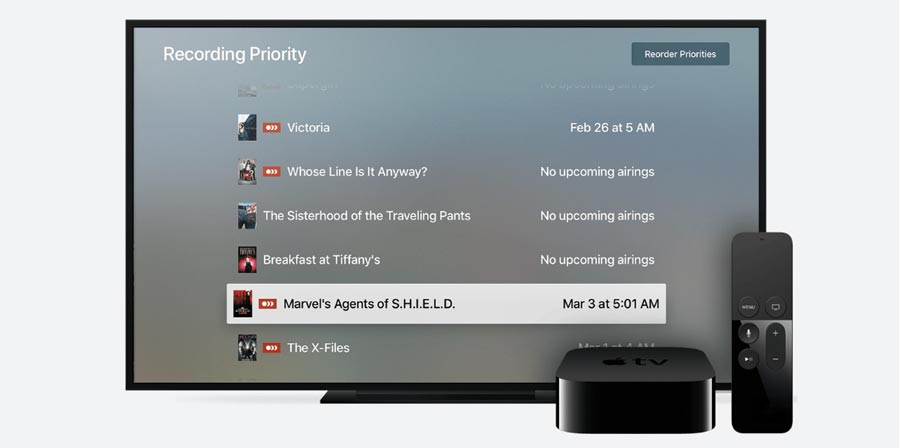 Plex DVR på Apple TV