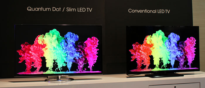 Sharp tv med quantum dot