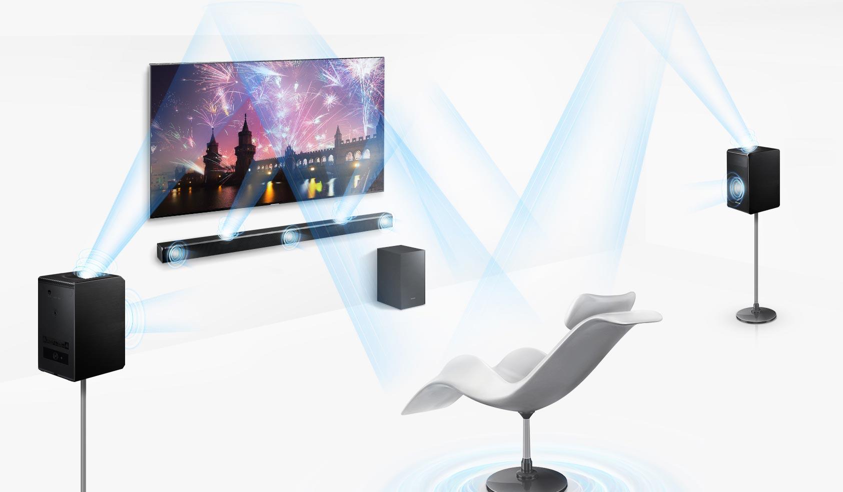 Samsung Dolby Atmos Soundbar