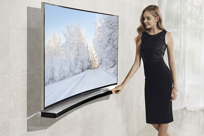 Samsungs buede soundbar