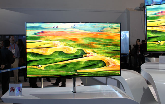 Samsungs 55-tommer Super OLED-TV