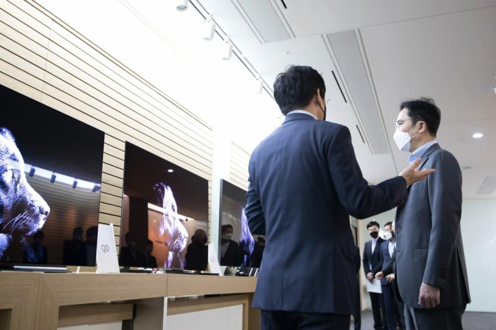 Samsung QD prototype