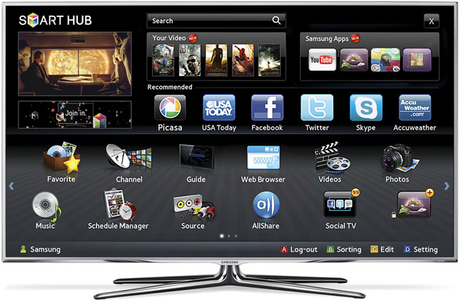 Samsungs Smart TV