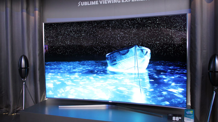 Samsung SUHD med quantum dot