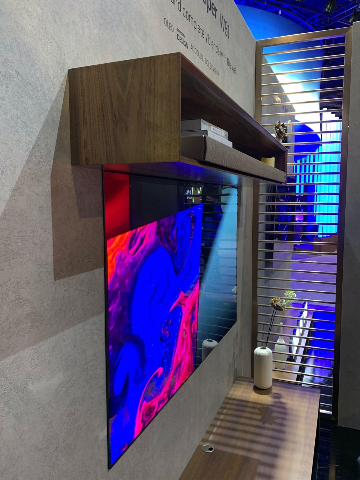Skyworth wallpaper OLED TV