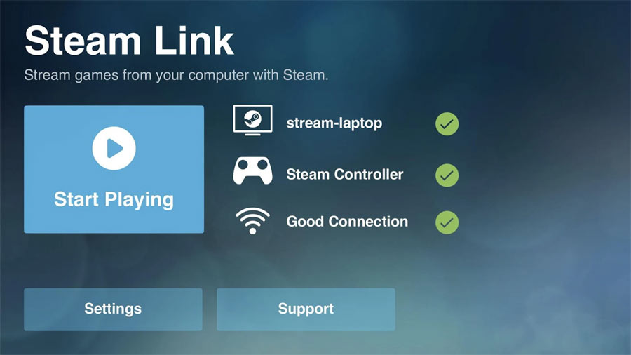 Steam Link på Android