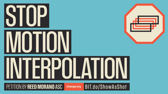 Stop motion interpolation