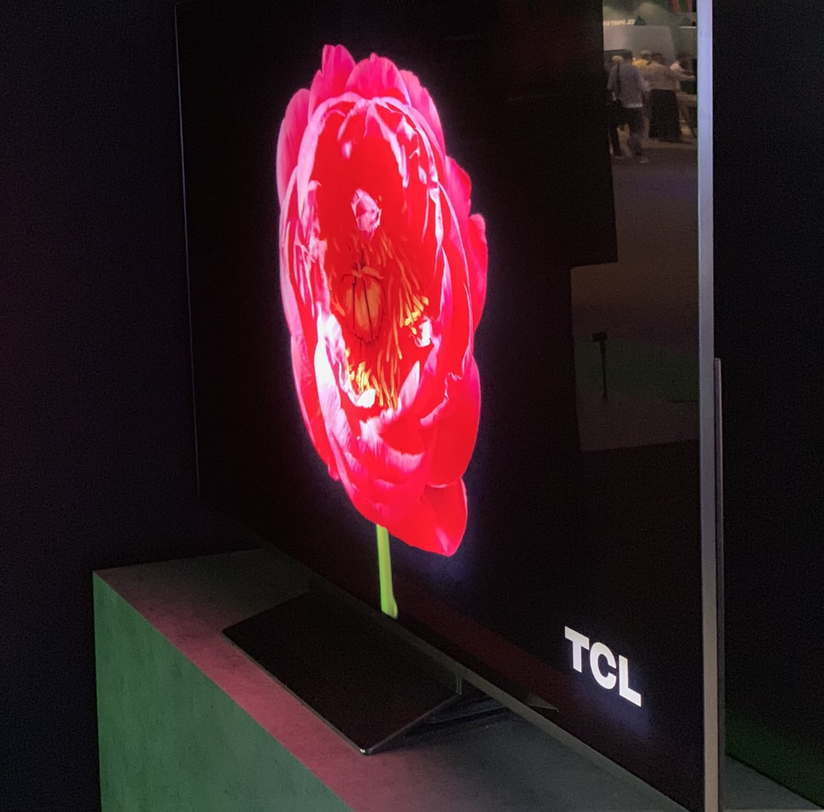 TCL 5000-zone miniLED LCD prototype