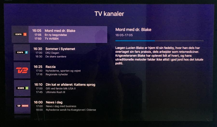 Telia TV på Apple TV