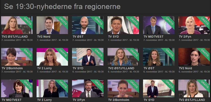 TV2-Regionerne på TV2 Play