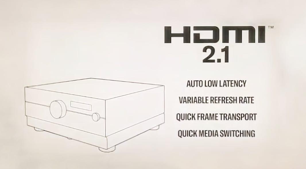 Yamaha HDMI 2.1 receivere