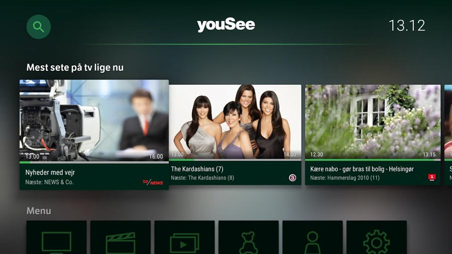 YouSee Android TV