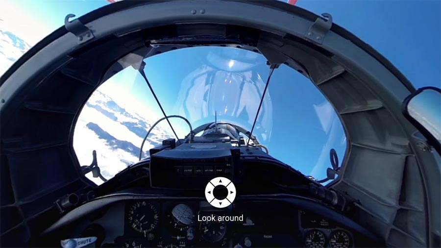 YouTube 360-degree videos