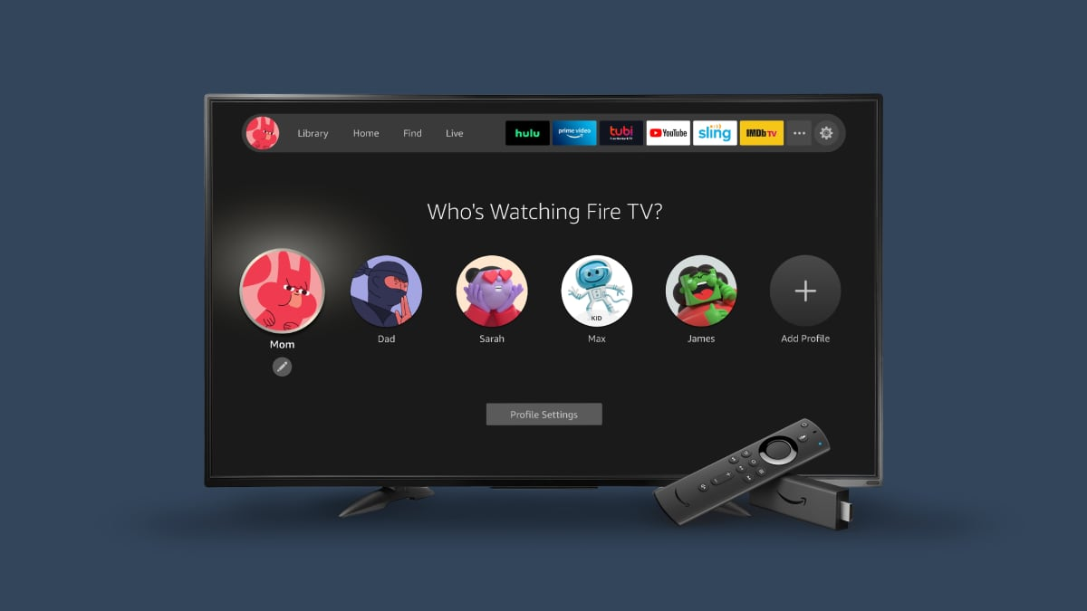 New FireTV user interface