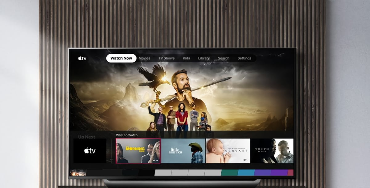 Apple TV Atmos LG TV